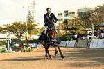 2018 Longines FEI Jumping WC Guadalajara Winner gallop Luis Alejandro Placencia and Davinci_Anwar Esquivel.JPG