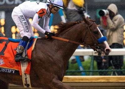Mike Smith USA Justify Kentucky Derby 2018